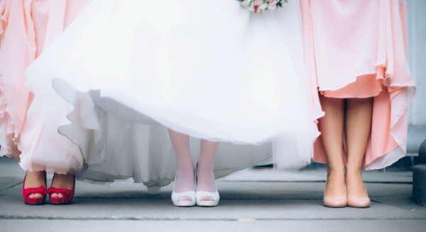 Как подобрать свадебные туфли