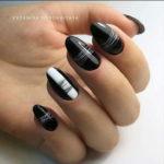 cвадебный дизайн ногтей паутинка