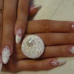свадебный дизайн ногтей фотогалерея