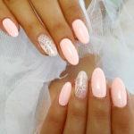 свадебный дизайн ногтей гель-лак