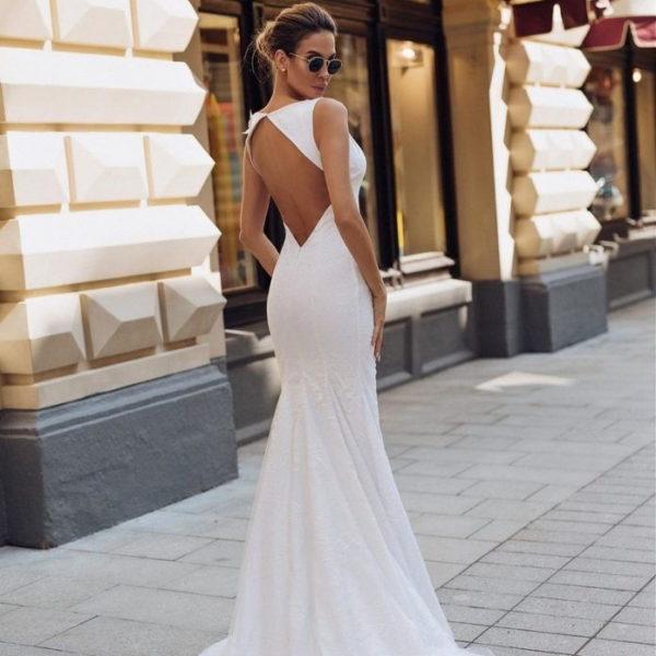 Красивые и модные свадебные платья